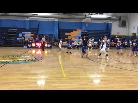 Cassidy's cross-over move! Brandon vs. Kempsville Middle School