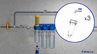 видео установка фильтра воды в Запорожье