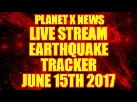 "PLANET X NEWS - ""LIVE STREAM"" ☀ EARTHQUAKE 3-D ☀JUNE 15TH 2017"