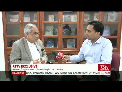 Jobs are on the rise, says NITI Aayog Vice Chairman Rajiv Kumar