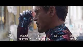 Avengers: Infinity War Blu-ray Menu 1080p (FANMADE)