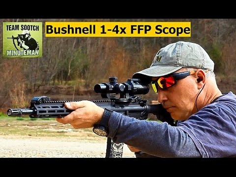 Bushnell 1 4x FFP AR 223 Scope Review