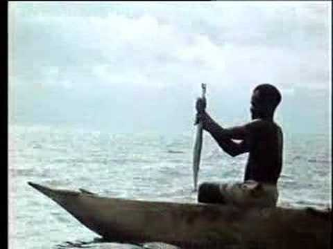 Kite Fishing In Melanesia