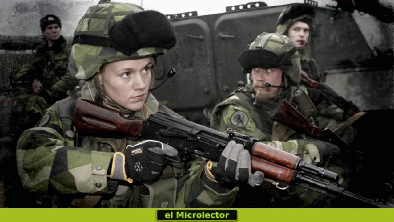 Image result for servicio militar obligatorio suecia
