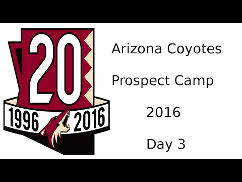 Coyotes Prospect Camp 2016 - Day 3