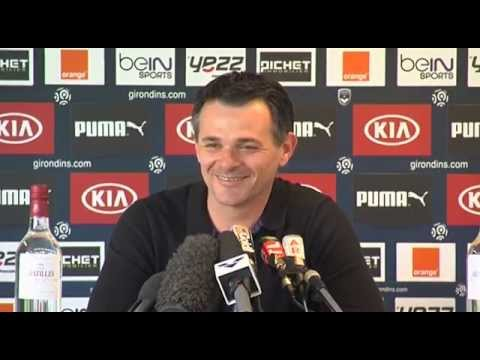 Point Presse - Willy Sagnol - Bordeaux vs Lens