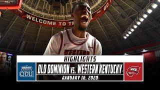 Old Dominion vs. Western Kentucky Basketball Highlights (2019-20) | Stadium