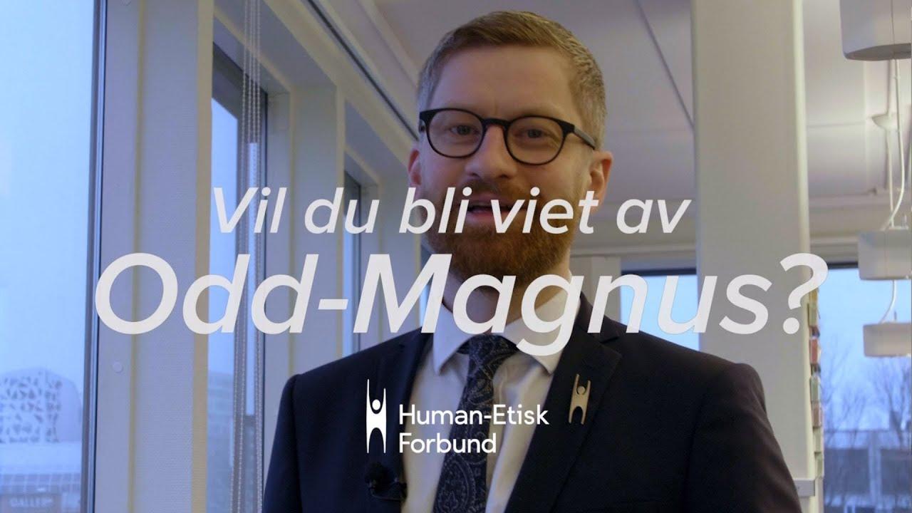 Er du gifteklar? Komiker Odd-Magnus Williamson godkjent som vigsler hos Human-Etisk Forbund