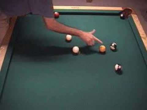 NV 7.2 - Cue ball billiard shot