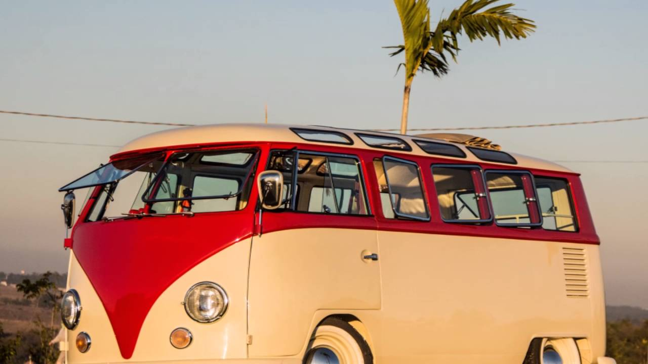 vw kombi bus van samba 23 windows for sale in brazil youtube. Black Bedroom Furniture Sets. Home Design Ideas