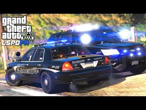 GTA 5 Police Mod   LSPDFR #169 - County Boys