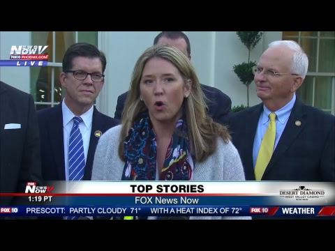 FNN: White House Press Briefing w/ Huckabee Sanders, Animated & Passionate Roy Moore Campaign Event