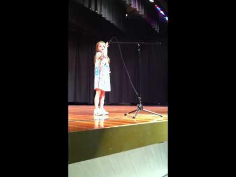 Lily singing