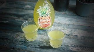 Простая ананасовая настойка на водке