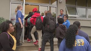 Philadelphia Students Back In Class At Temporary Buildings Following Asbestos At 2 Schools