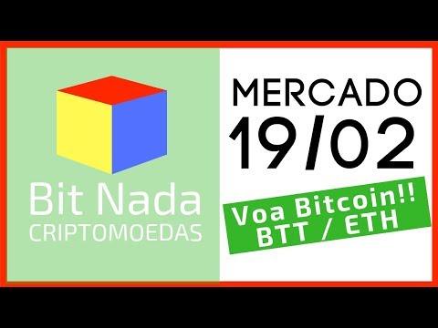 Mercado de Cripto! 19/02 VOA BITCOIN!! / BTT / ETH / Forbes
