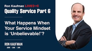 Ron Kaufman - Quality Service LIVE Part 6