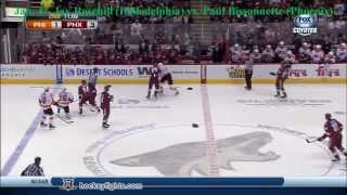 Top Ten NHL Hockey Fights of January 2014 {HD}