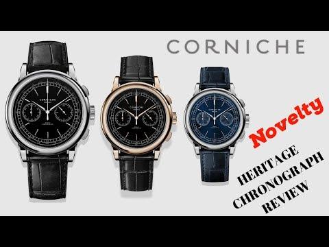 CORNICHE HERITAGE CHRONOGRAPH MEN'S WATCH REVIEW (2019)
