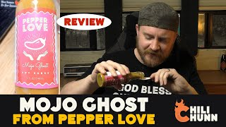 """Pepper Love """"Mojo Ghost"""" Hot Sauce Review"""