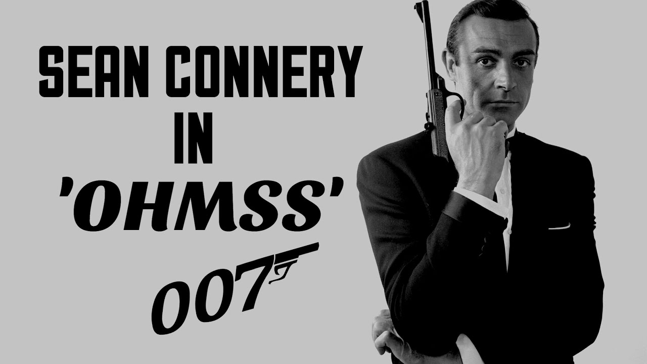 Image result for sean connery on her majesty's secret service