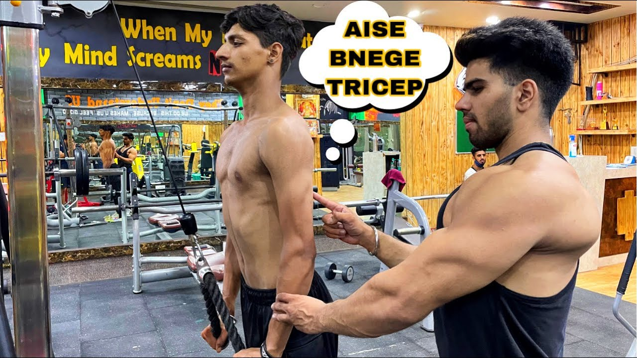 TRICEP WORKOUT AT GYM| GOLDEN TIPS & TOP 3 EXERCISES✅