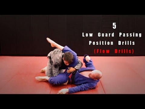 5 BJJ Low Guard Passing Position Drills (Flow Drills)