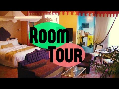 Luxury Arabian Themed Hotel Room Tour YouTube