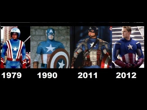 Captain America Movies. 1944-1979-1990-2011-2012 [Compilation movies]-Capitan america