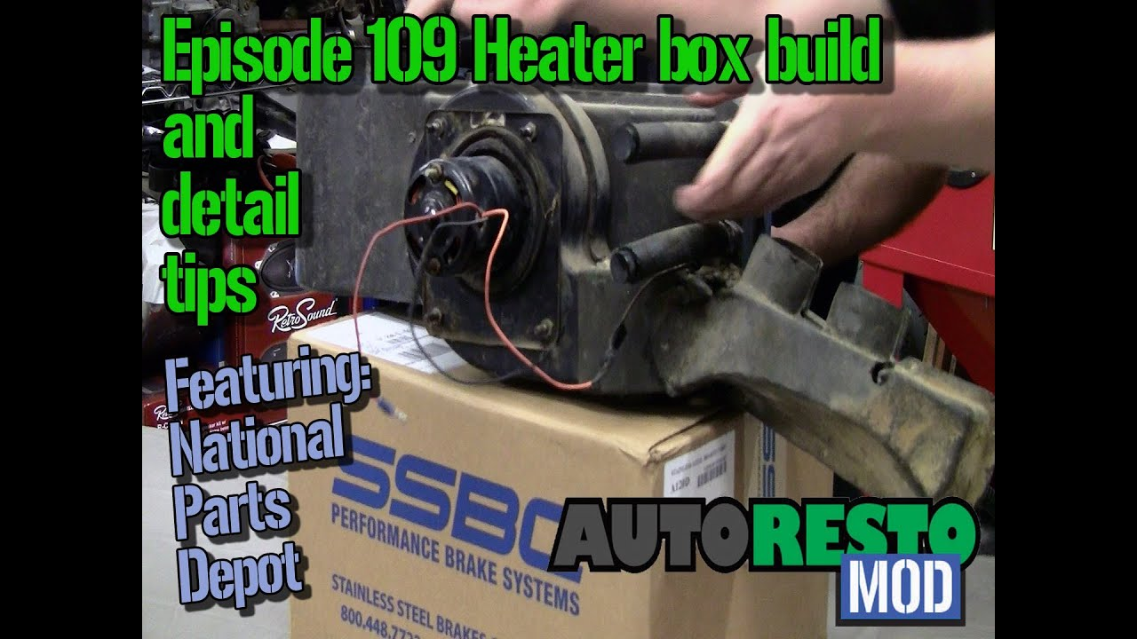 episode 109 mustang cougar heater box build and detail tips autorestomod youtube. Black Bedroom Furniture Sets. Home Design Ideas