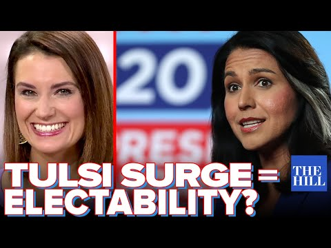 Krystal Ball: Tulsi Gabbard surges, is she the most electable?
