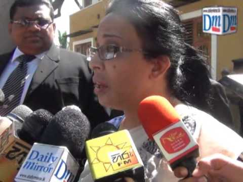 Vass's wife complains against Shiranthi