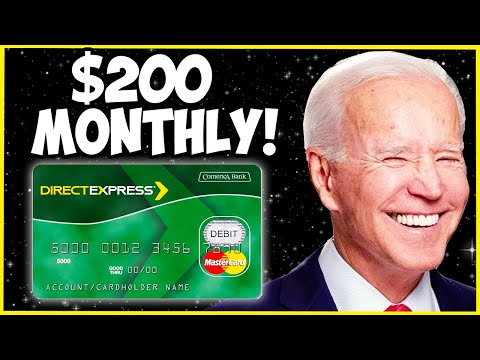 DIRECT EXPRESS DATE! $200 MONTHLY BENEFITS UPDATE! Social Security Benefits 2021 SSI SSDI SSA