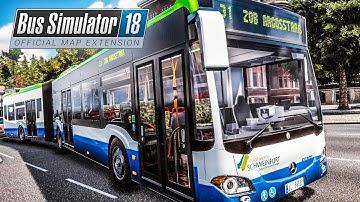 BUS SIMULATOR 18: Der GELENKBUS mit Premium-Innenraum | BUS SIMULATOR 2018 #51