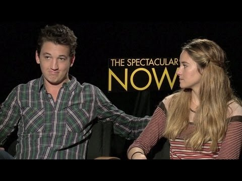 Shailene Woodley & Miles Teller Exclusive: The Spectacular Now Interview