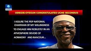 connectYoutube - Oyegun Congratulates Secondus As PDP Starts In-House Reconciliation |Politics Today|