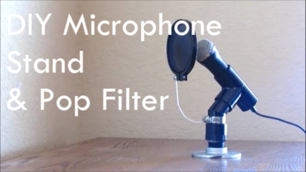 Diy Microphone And Pop Filter Nerd Builds Youtube Electret Condenser Wiring