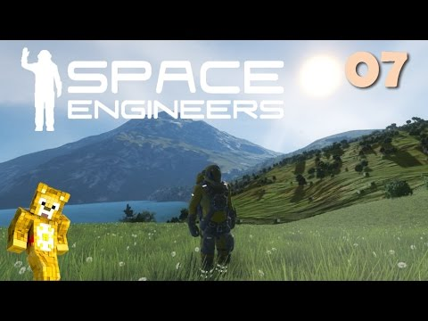 Let's Play Space Engineers with Planets - Ep07 - Flight