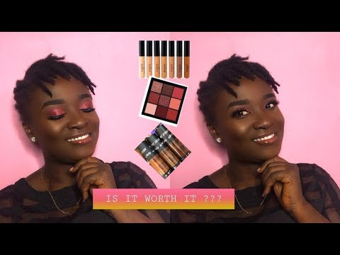 TRYING NEW MAKEUP PRODUCTS || FIRST IMPRESSIONS || IAM ABENA thumbnail