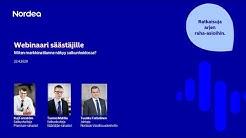 Webinaari säästäjille: Miten markkinatilanne näkyy salkunhoidossa? | Nordea Pankki 22.4.2020