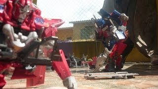 Transformers Dark of the moon The final battle Stop-motion