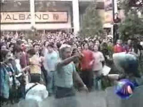RAMMSTEIN AUTOGRAFOS EN MEXIKO 2001