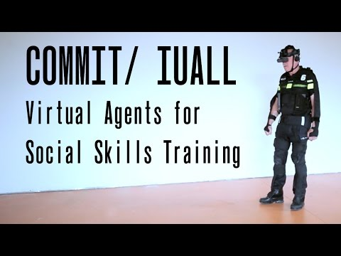 Virtual Agents for Social Skills Training (COMMIT/ IUALL)