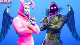 *NEW* DARK WINGS Back Bling ON SKINS!!! (Showcase) Fortnite Battle Royale