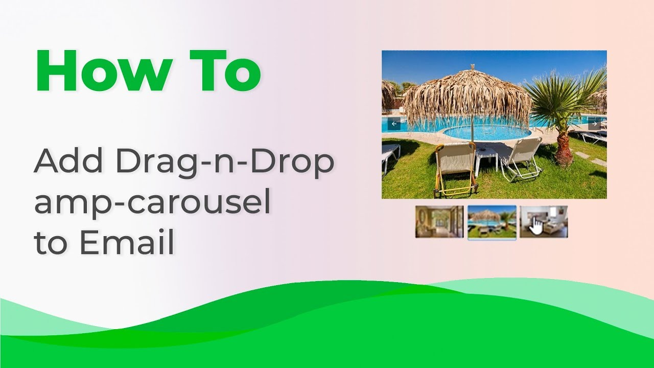 How to add a Drag-n-Drop AMP-carousel to email with Stripo