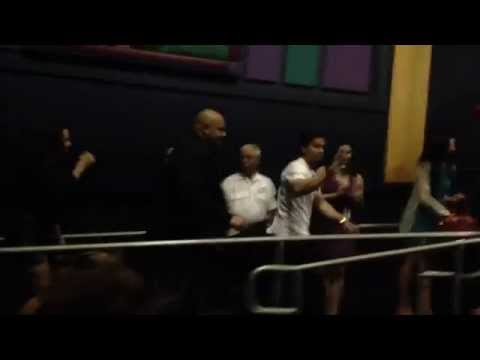 """Introduction by Mark Wahlberg and Natalie Martinez at premiere of """"Broken City"""""""