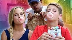 Bubble Gum Challenge!  (MattyBRaps vs Liv... & Justin?)
