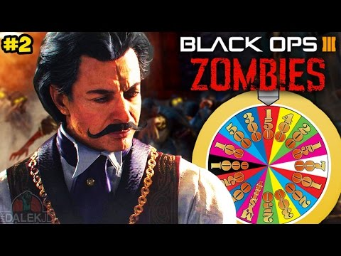 "Black Ops 3 ZOMBIES ""ROULETTE CHALLENGE!"" - CUSTOM MODE on SHADOWS OF EVIL FINALE! (BO3 Zombies)"