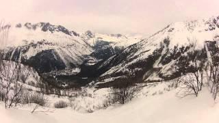 snowboarding L'Argentiere, Chamonix, Mont Blanc