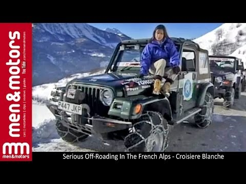 Serious Off-Roading In The French Alps - Croisiere Blanche